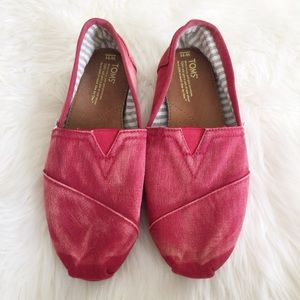 Distressed Red Toms